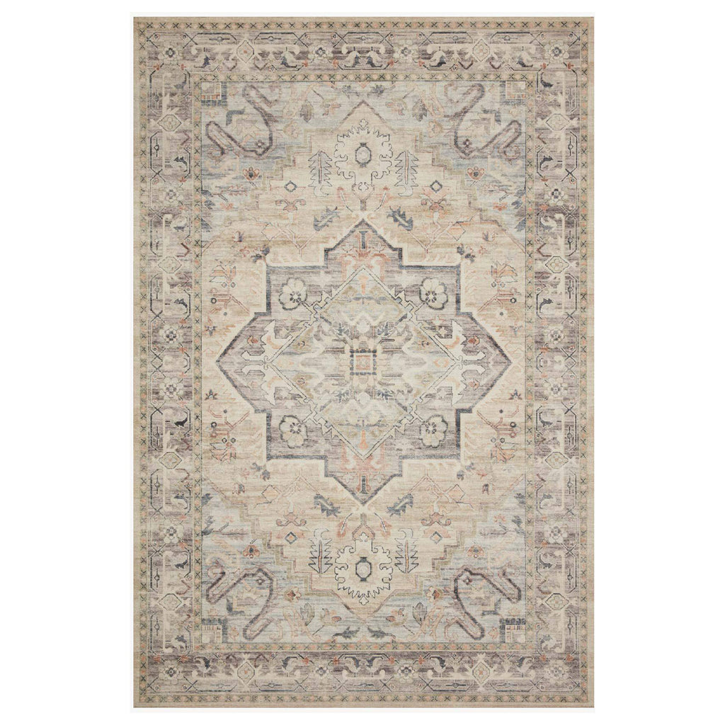 Loloi II Hathaway Multi/Ivory Power Loomed Rug