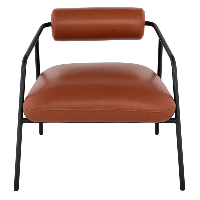 Cyrus Leather Occasional Chair