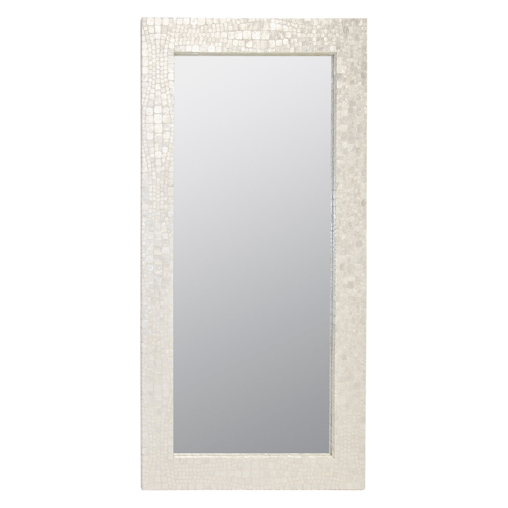 Worlds Away Hillary Floor Mirror