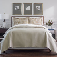 Peacock Alley Hamilton Quilted Coverlet