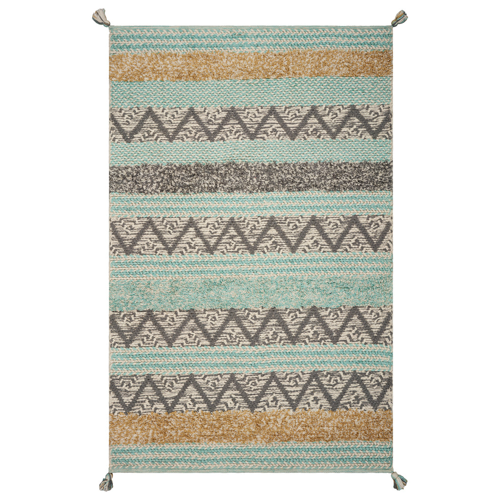 Hang Ten Malibu Hermosa Beach Handwoven Rug