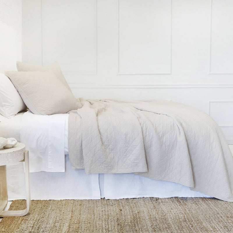 Pom Pom at Home Huntington Taupe Coverlet