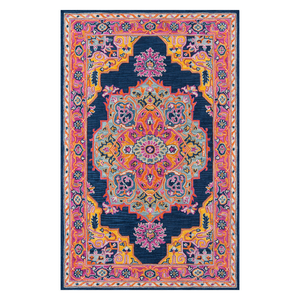 Kadin Medallion Hand Tufted Rug