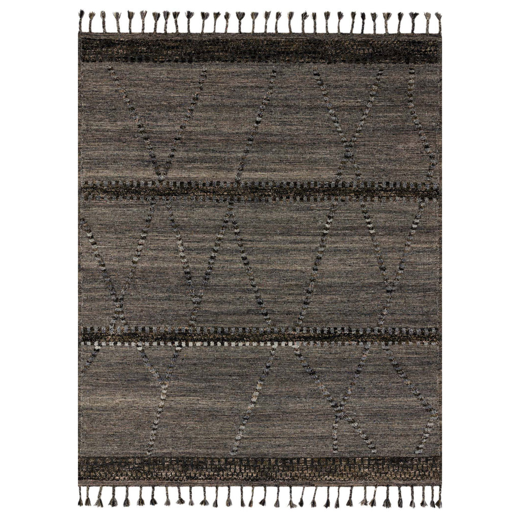 Loloi Iman Gray/Multi Hand Knotted Rug