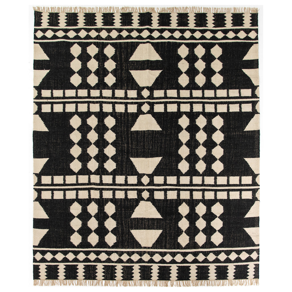 Four Hands Argus Block Handloomed Rug