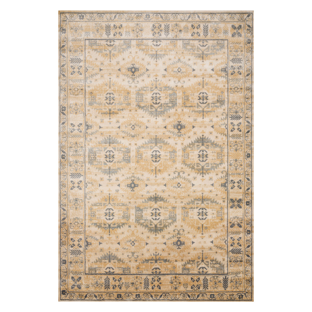 Loloi Isadora Wheat Power Loomed Rug