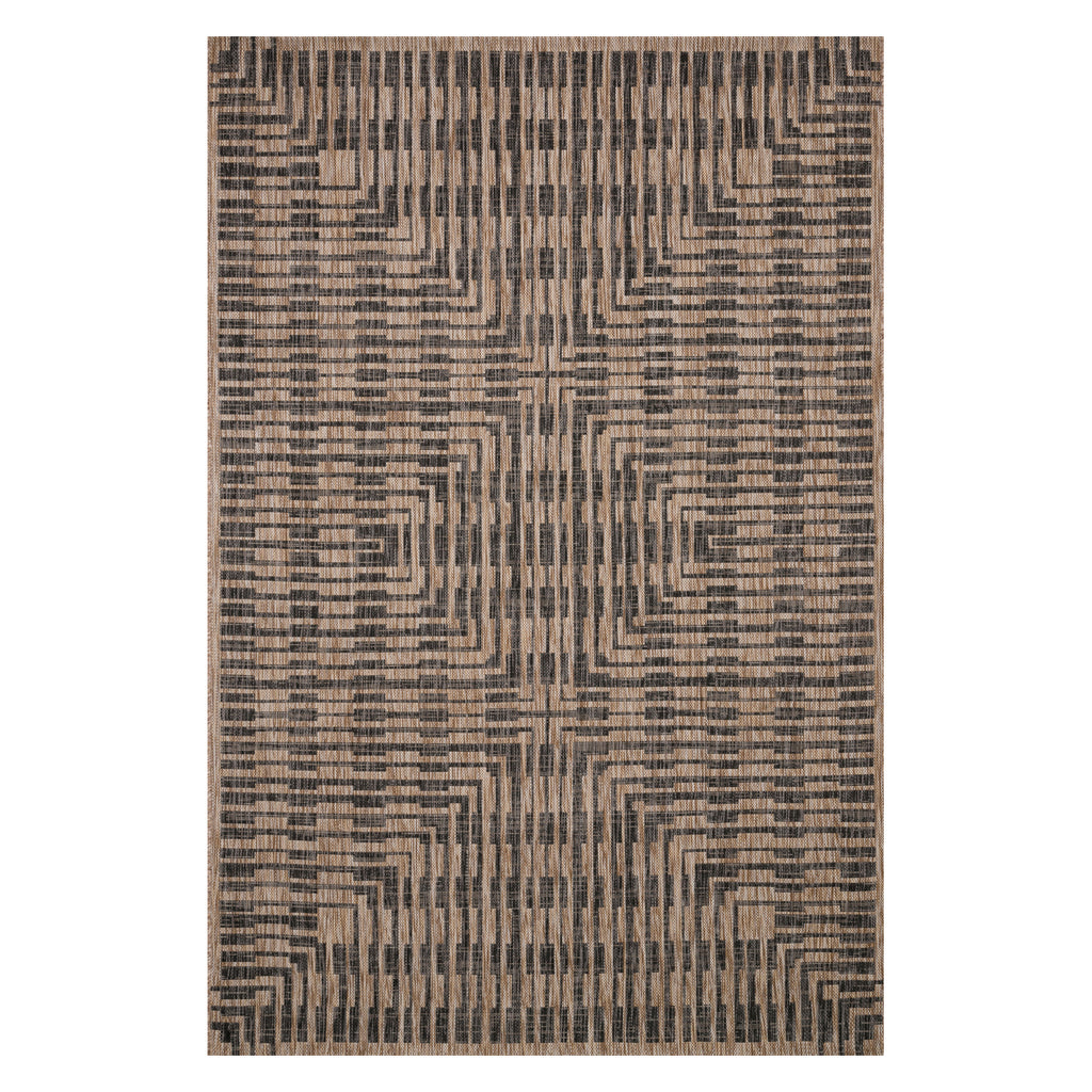 Loloi Isle Brown Indoor/Outdoor Rug