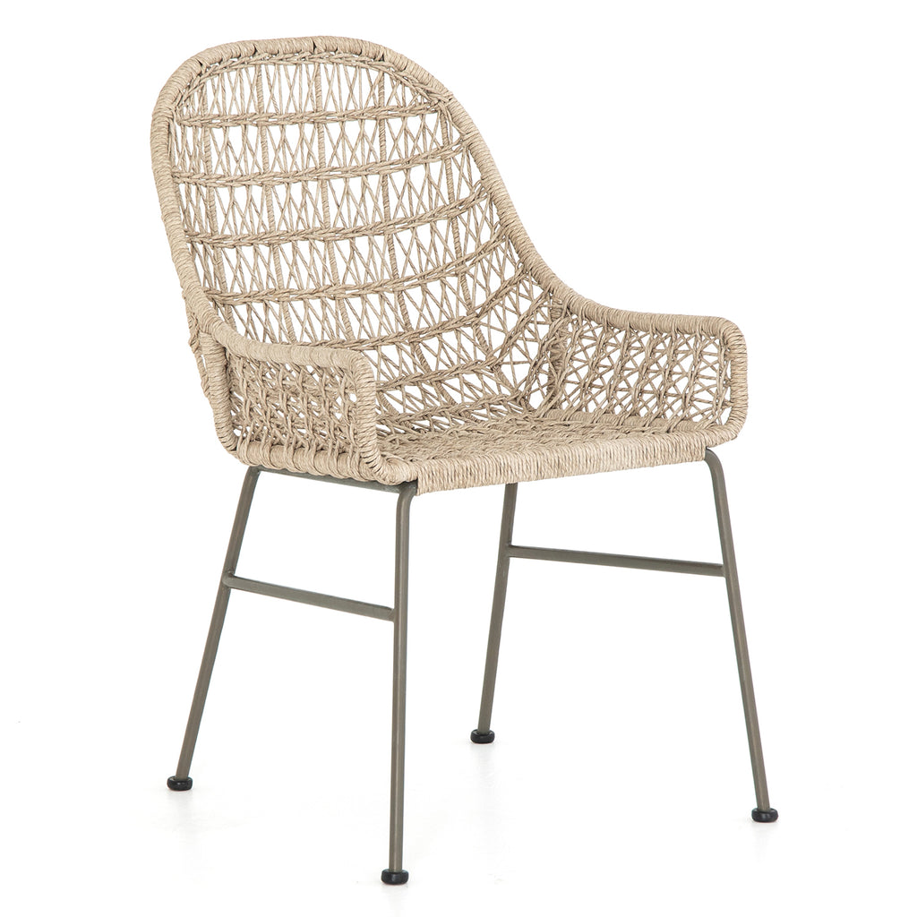 Four Hands Bandera Outdoor Low Arm Dining Chair