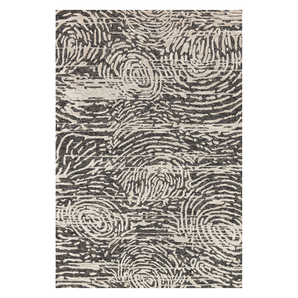 Loloi Juneau Charcoal/Silver Hand Tufted Rug