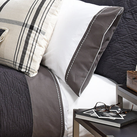 Avasa Home Grayson Charcoal Sheet Set