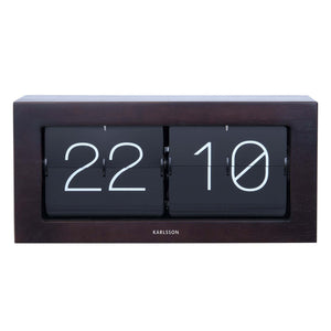 Boxed Flip Table Clock