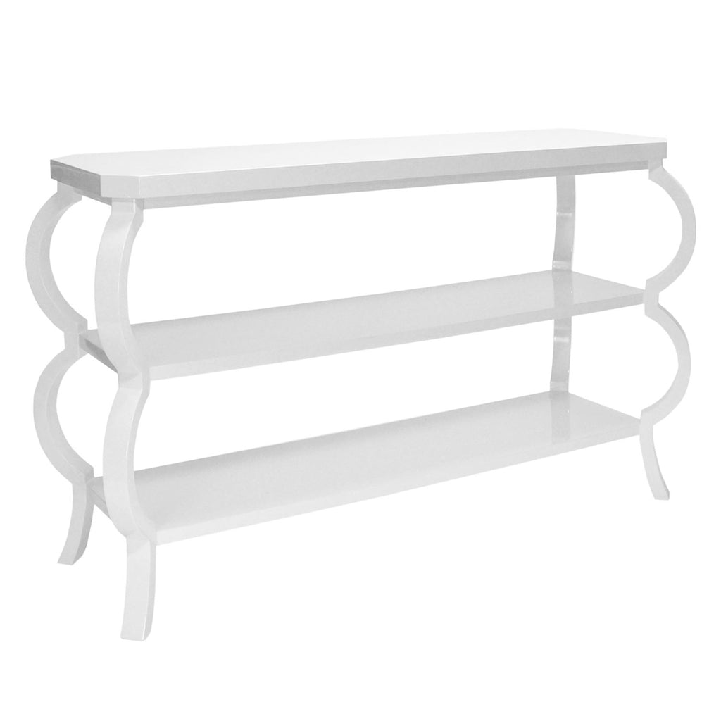 Worlds Away Kelly Console Table