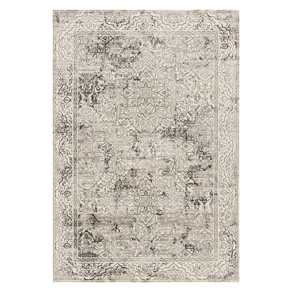 Loloi Kingston Ivory/Gray Power Loomed Rug