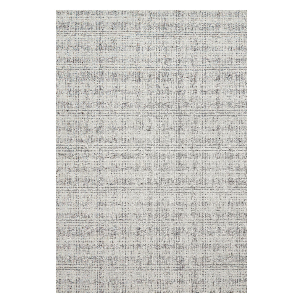 Loloi Klein Ivory/Charcoal Hooked Rug