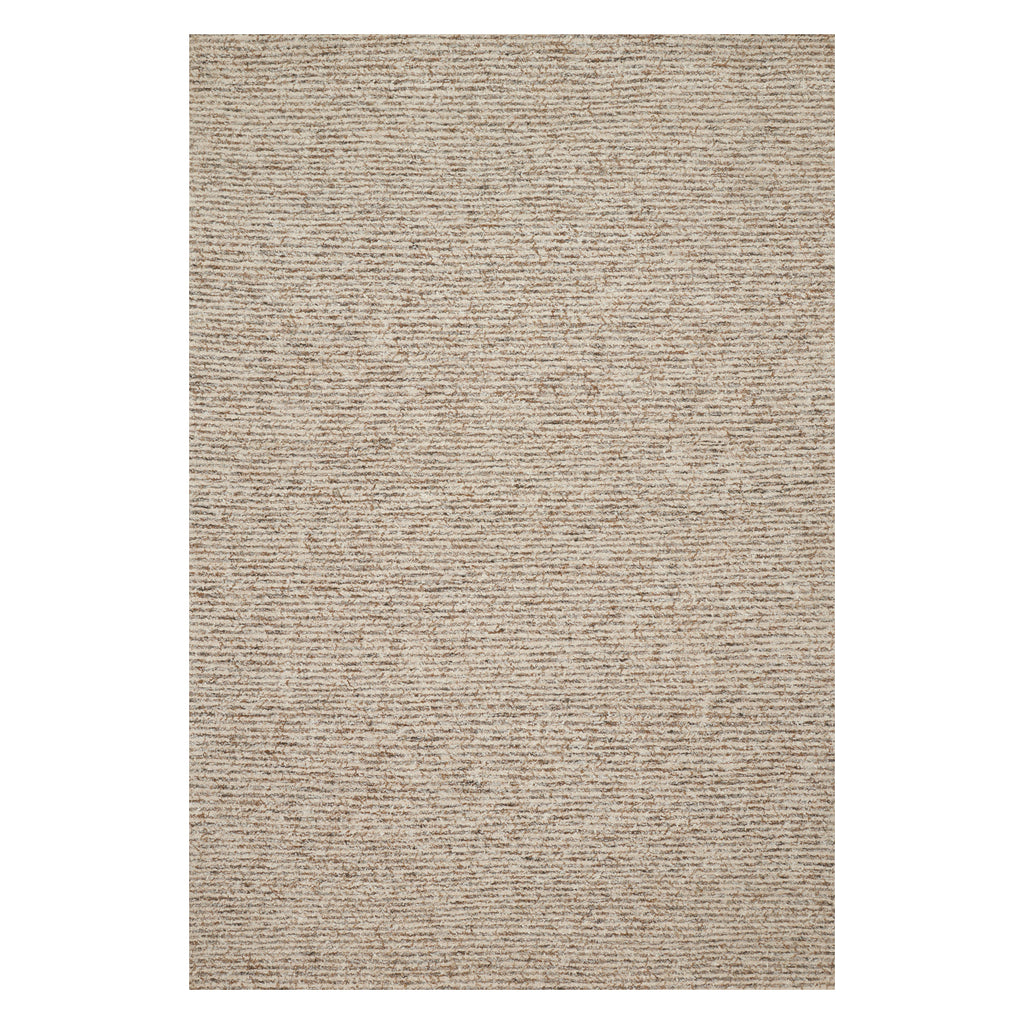 Loloi Klein Sand/Gray Hooked Rug