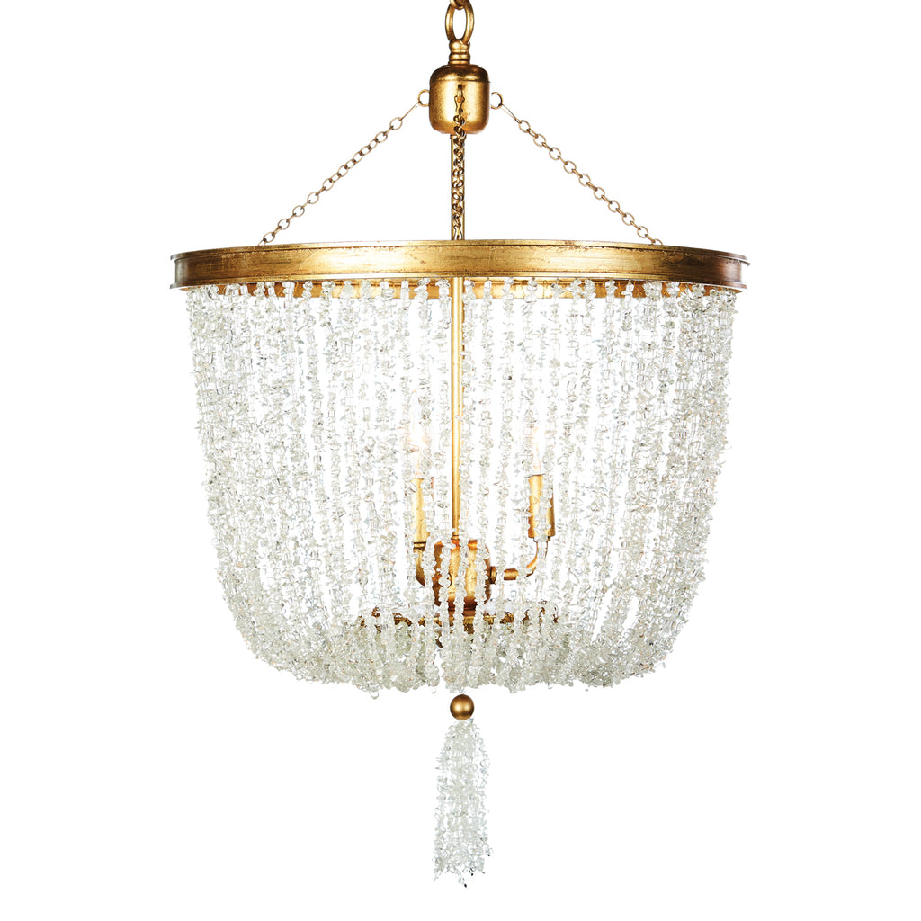 Aidan Gray Stone River Crystal Chandelier