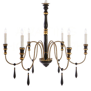 Aidan Gray Empire Black Chandelier