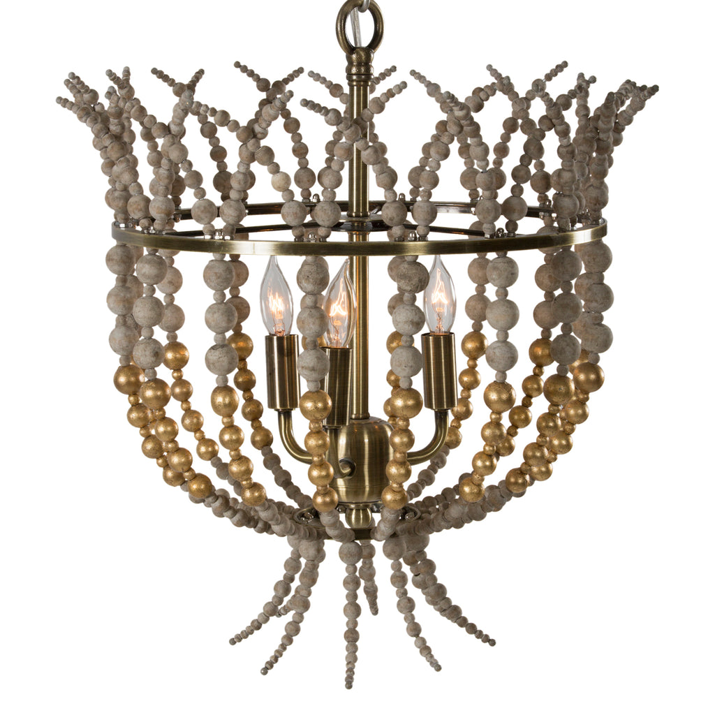 Aidan Gray Crown Top Chandelier - Final Sale