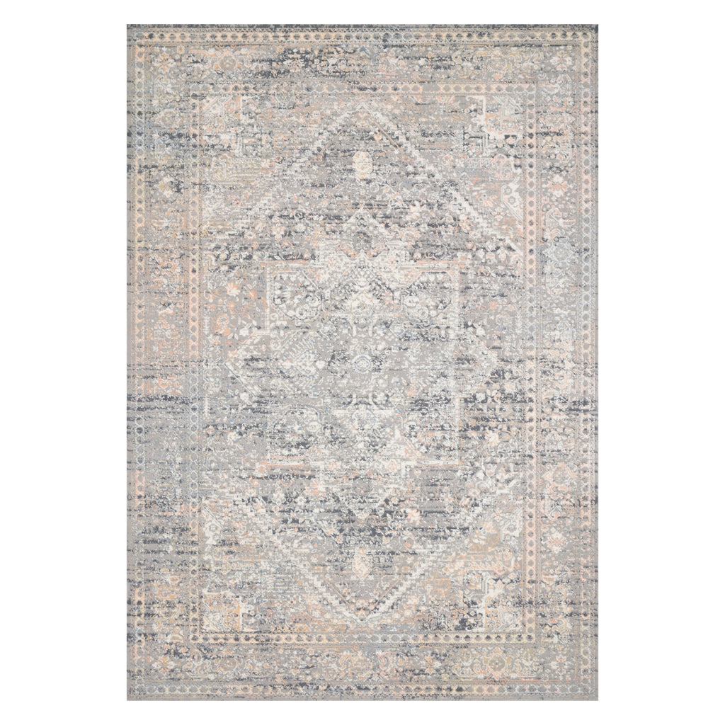 Loloi Lucia Gray/Sunset Power Loomed Rug