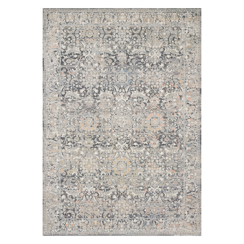 Loloi Lucia Gray/Mist Power Loomed Rug