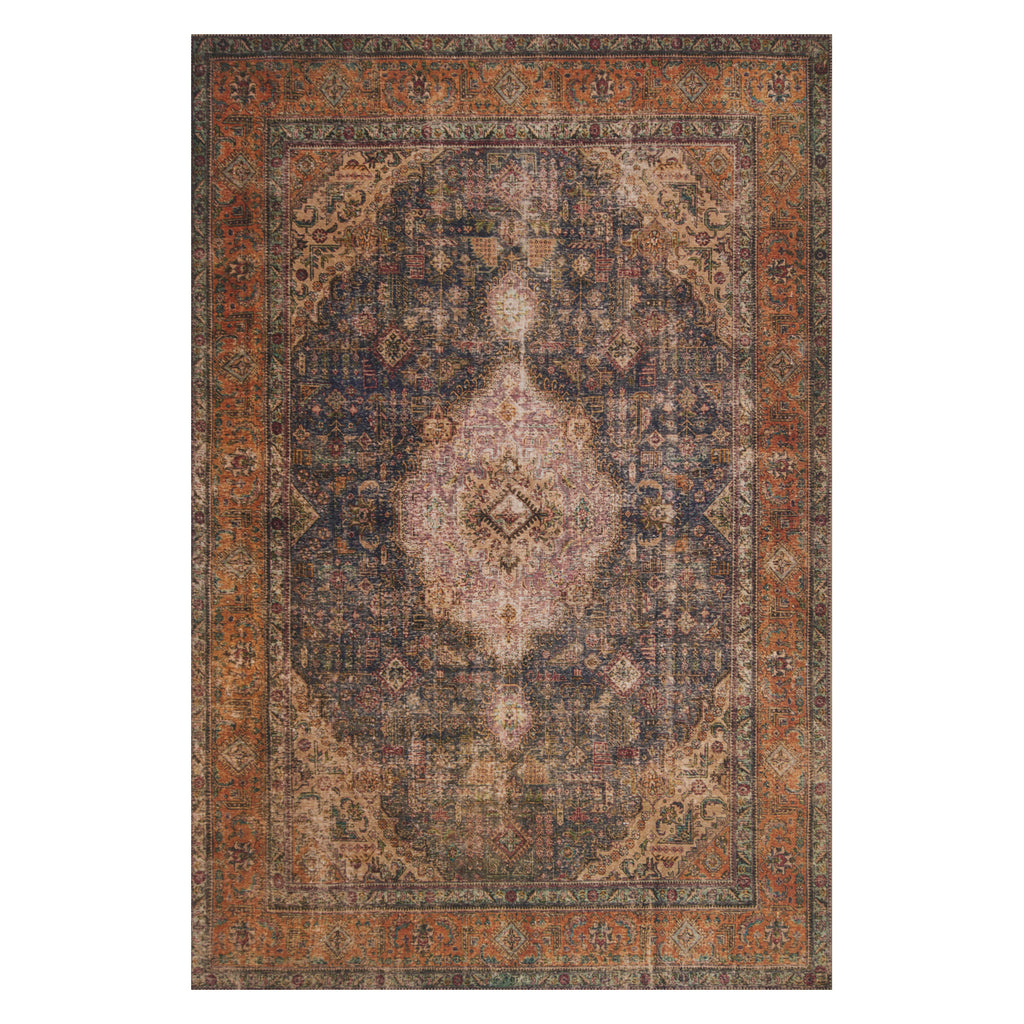 Loloi Loren Plum/Multi Power Loomed Rug