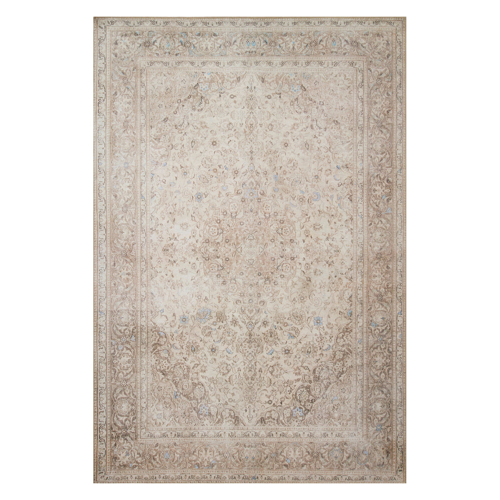 Loloi Loren Sand/Taupe Power Loomed Rug