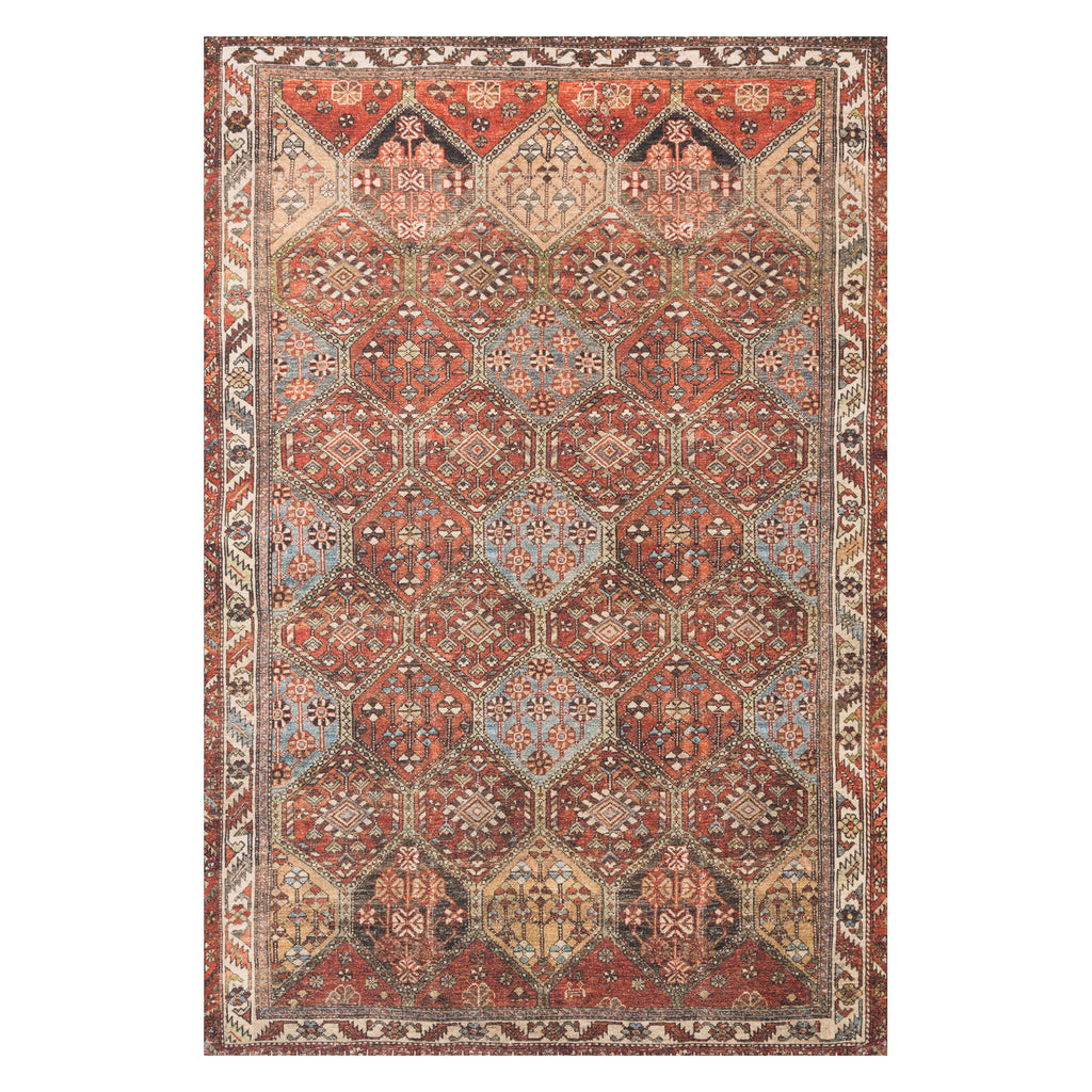 Loloi Loren Spice/Multi Power Loomed Rug