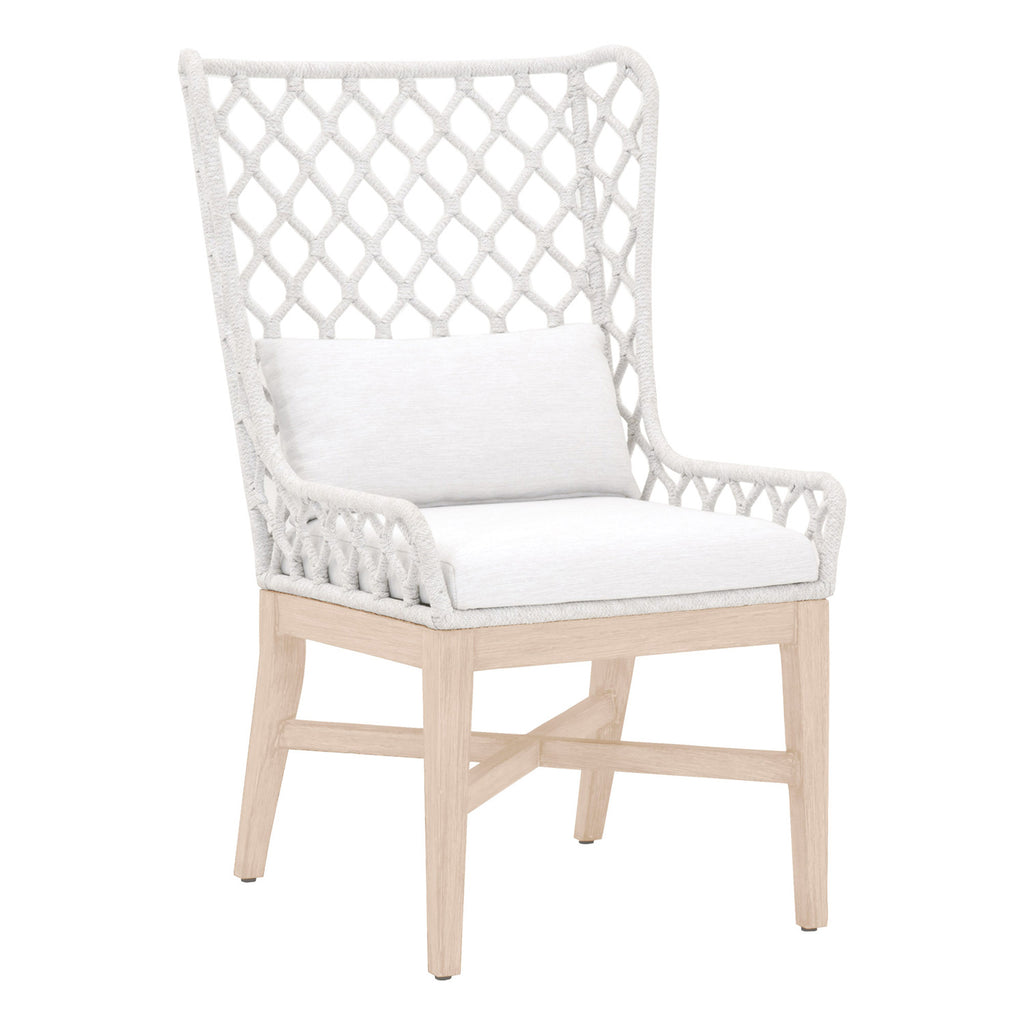 Lattis Outdoor Wing Chair