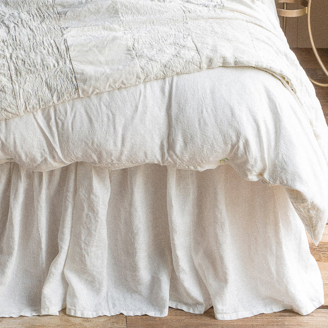 Bella Notte Linen Bed Skirt