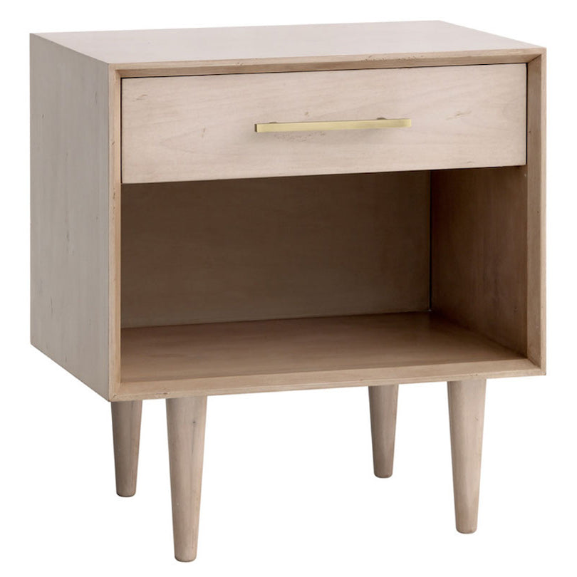 Redford House London 1 Drawer Nightstand