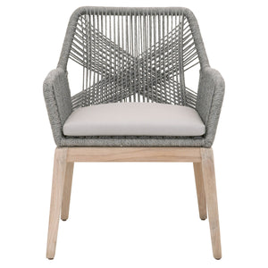 Loom Outdoor Arm Chair Set of 2
