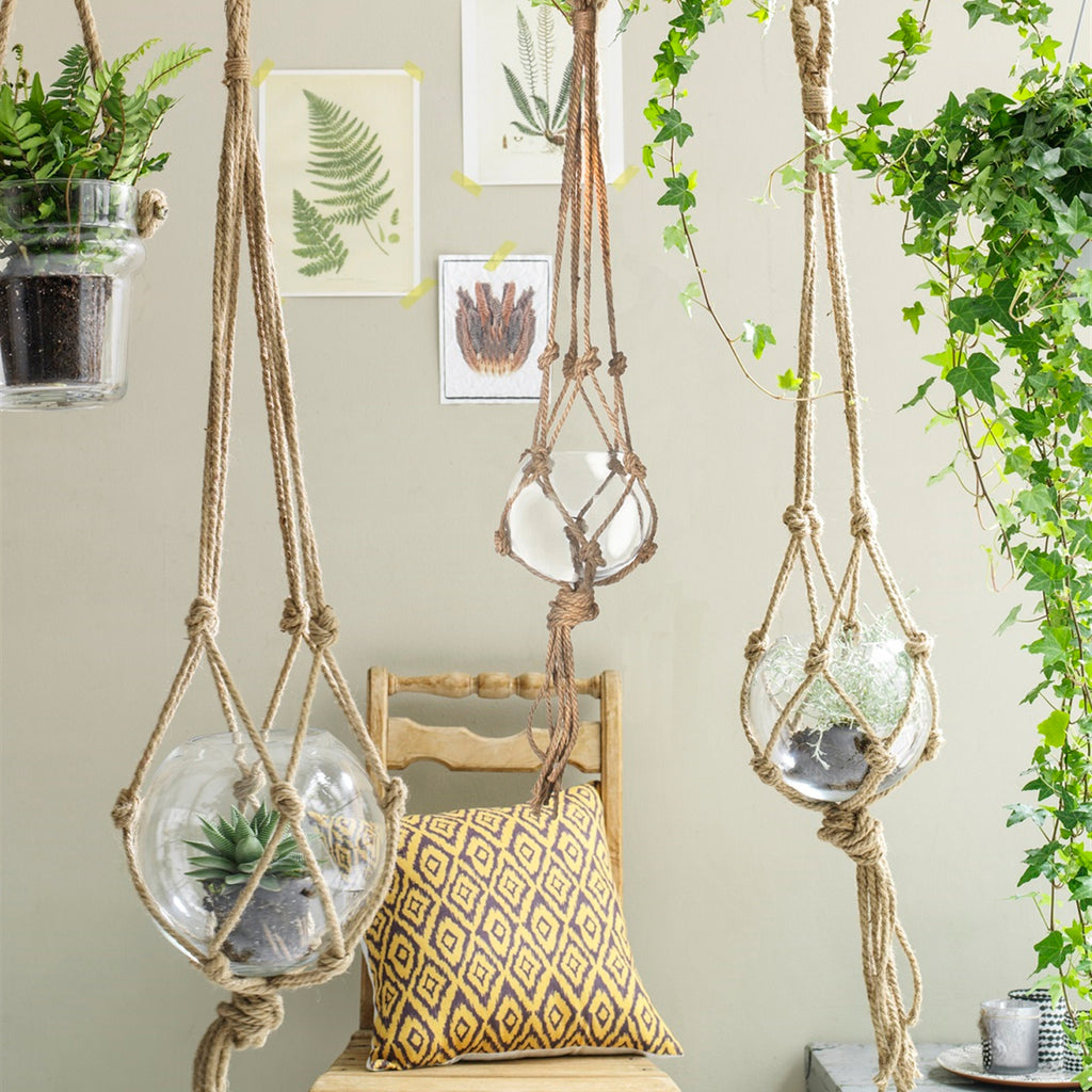 Kearney Glass Hanging Planter