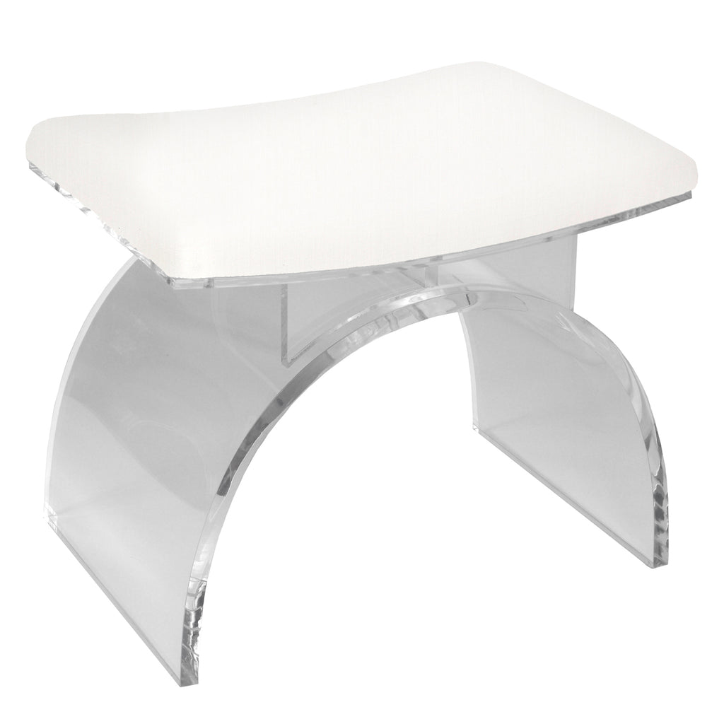 Worlds Away Marlowe Stool