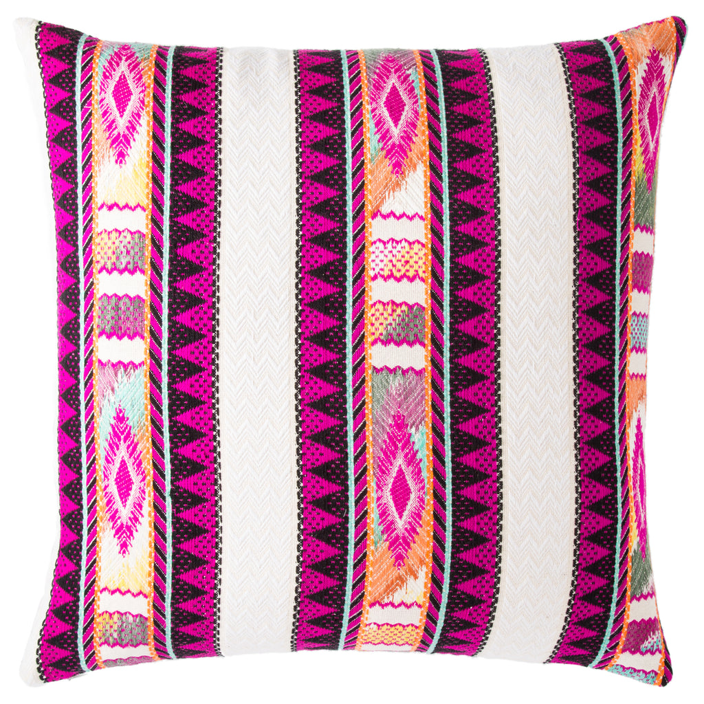 Jaipur Morada Flamenco Throw Pillow