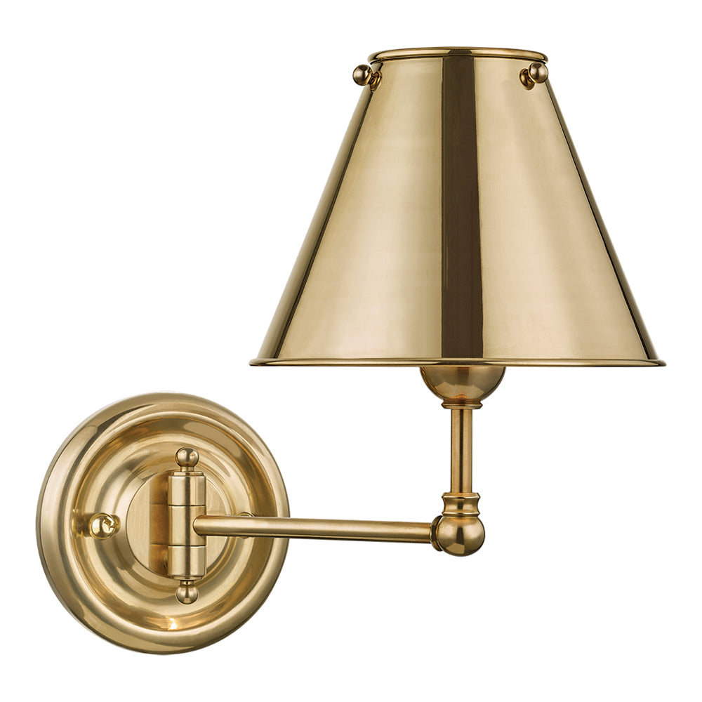 Mark D Sikes Classic No 1 Metal Single Wall Sconce