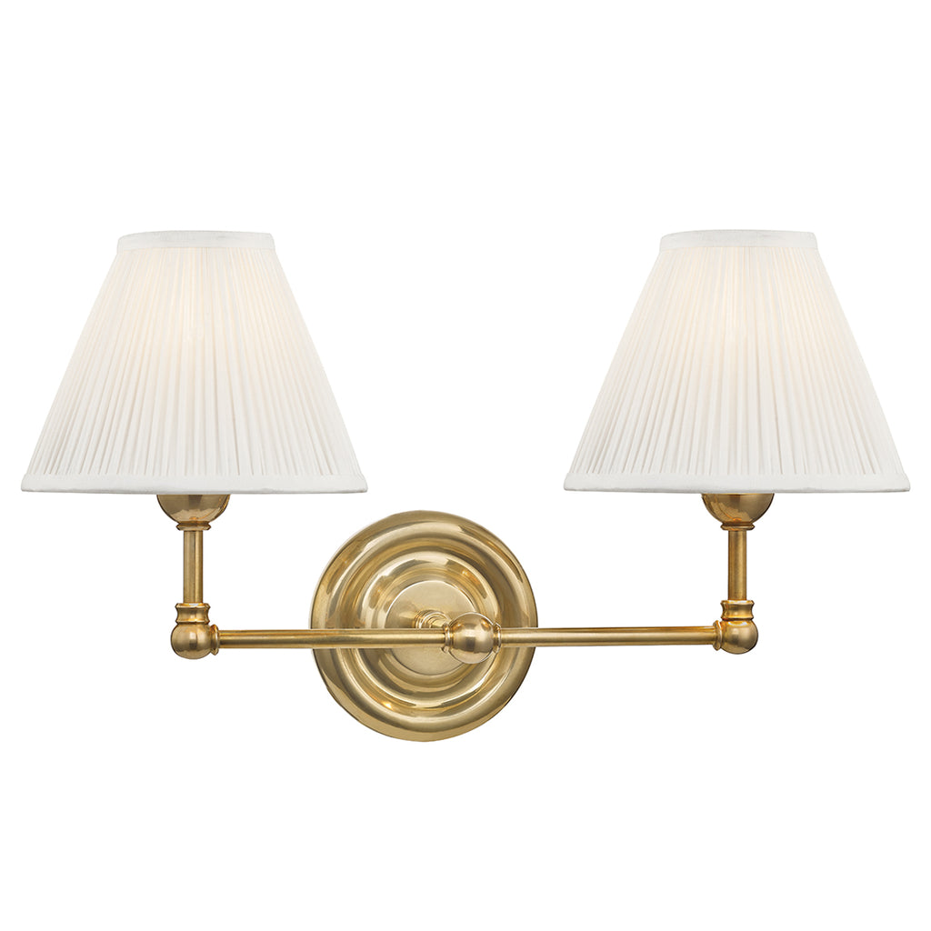 Mark D Sikes Classic No 1 Double Wall Sconce