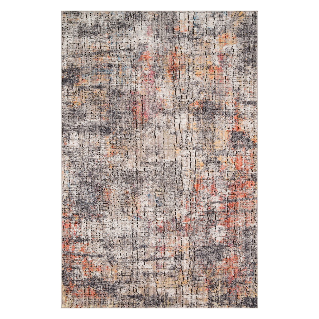 Loloi Medusa Granite/Sunset Power Loomed Rug