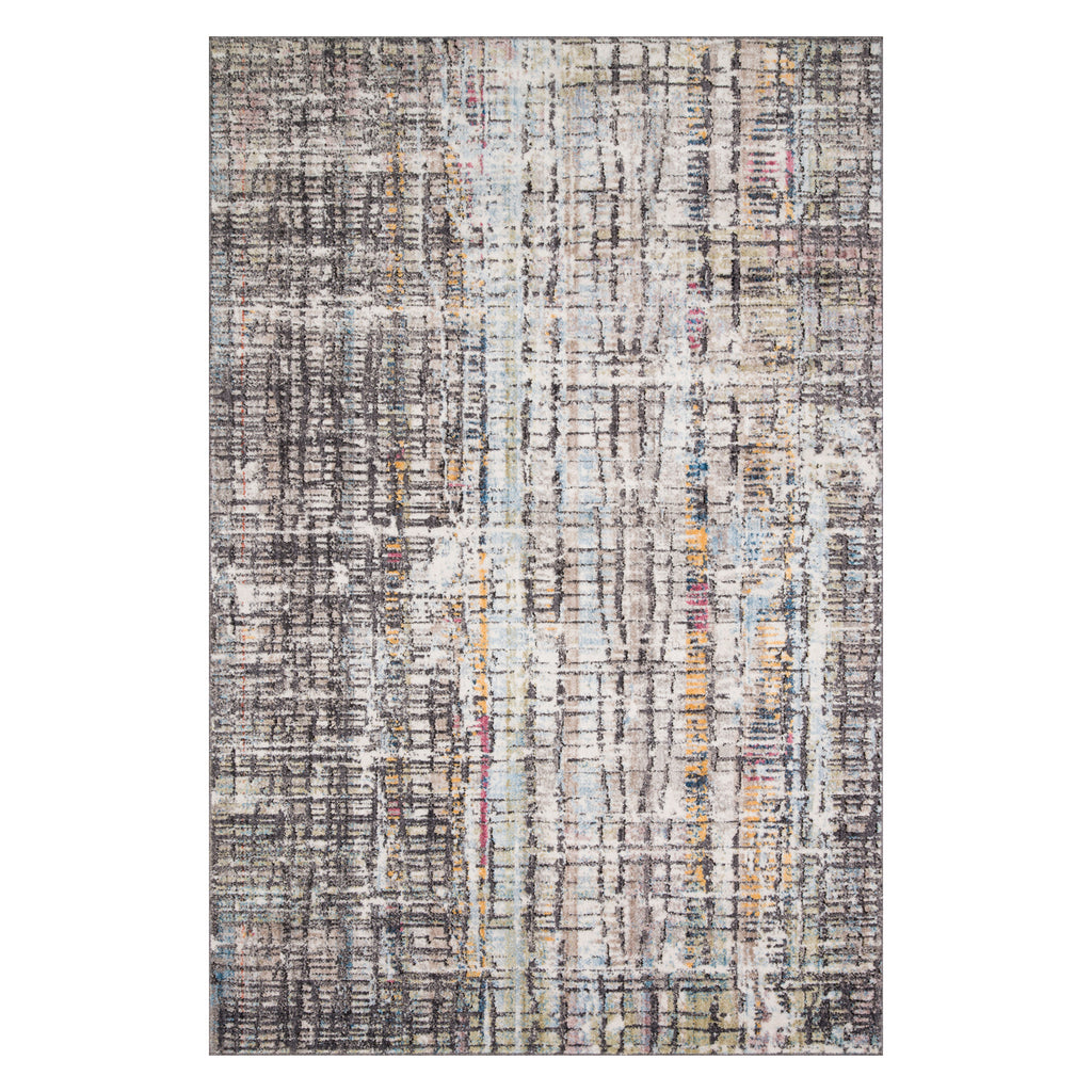Loloi Medusa Charcoal/Multi Power Loomed Rug