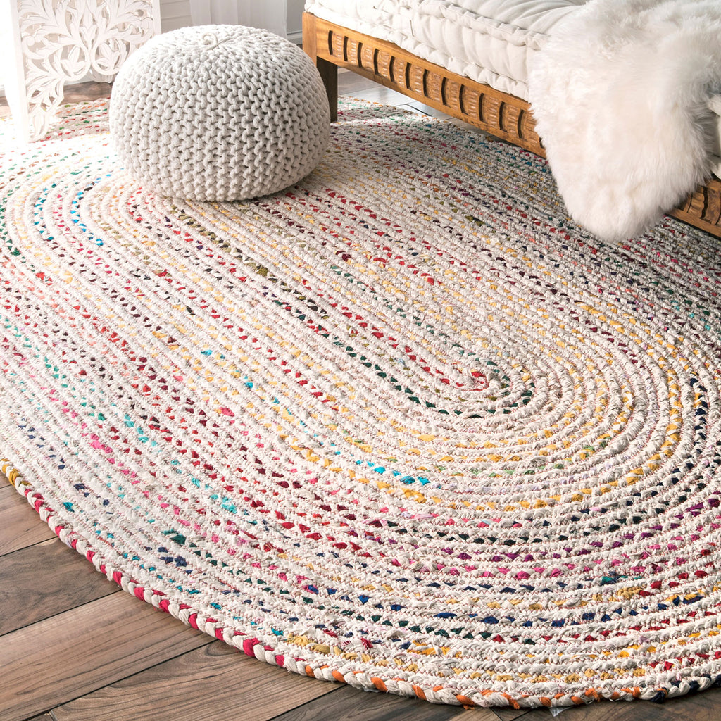 Cosmic Braided Rug