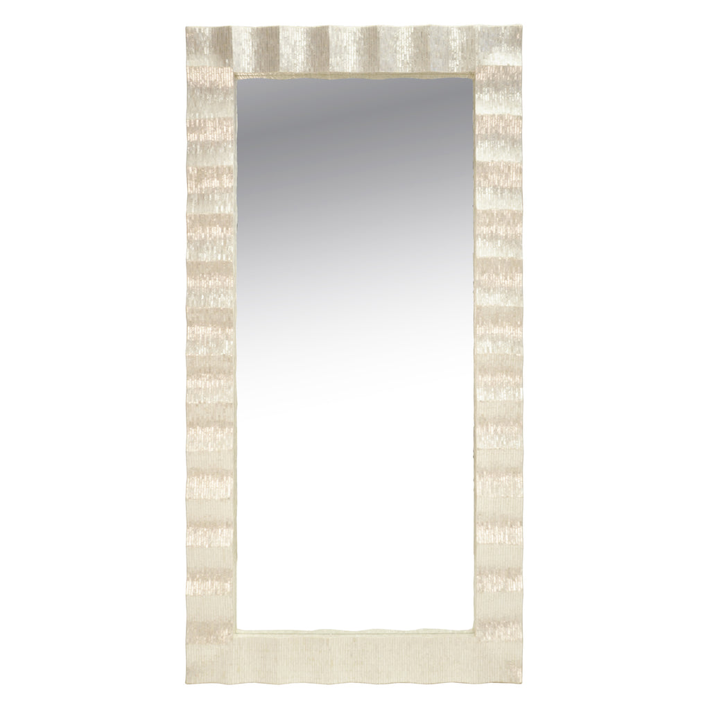 Worlds Away Milo Floor Mirror