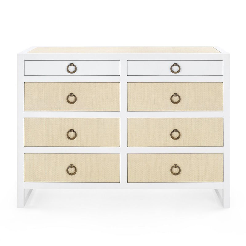 Bungalow 5 Mallet 8 Drawer Dresser