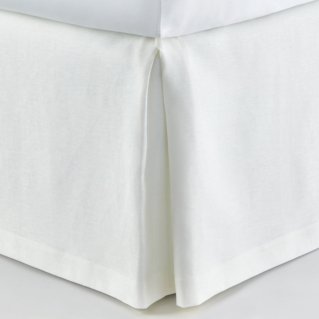 Peacock Alley Mandalay Linen Tailored Bed Skirt