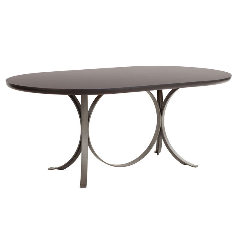 Redford House Manhattan Oval Dining Table