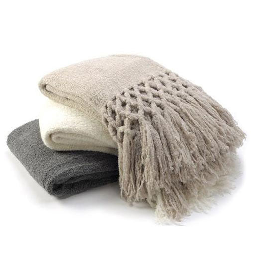 Sefte Maya Boucle Throw Blanket