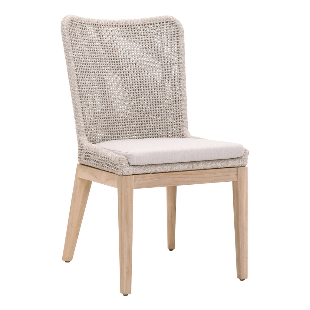 Mesh Outdoor Dining Chair Set of 2