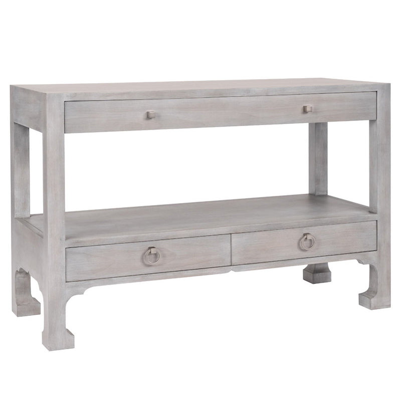 Redford House Morris 3 Drawer Console Table