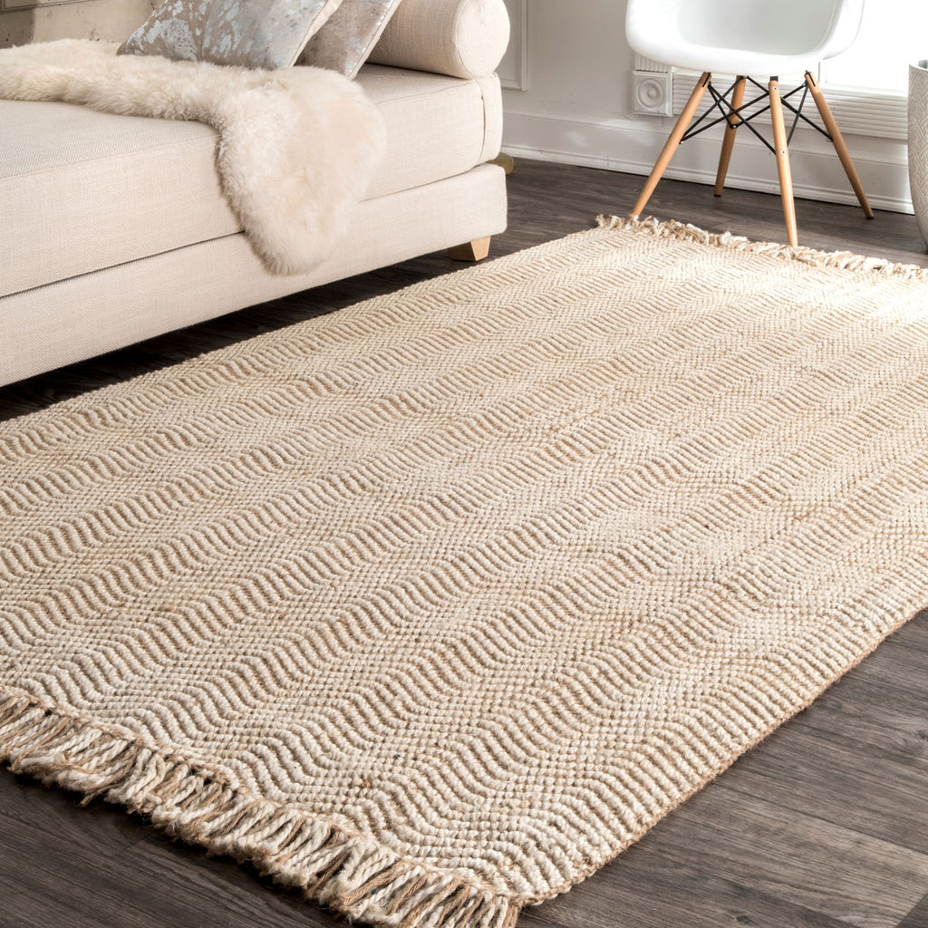 Mission Jute Hand Woven Rug