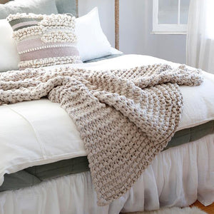 Pom Pom at Home Finn Throw Blanket