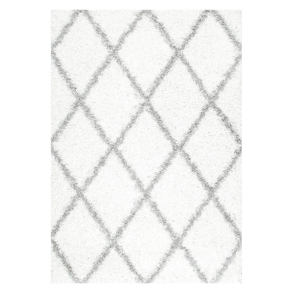 Stratus Lattice Shag Rug