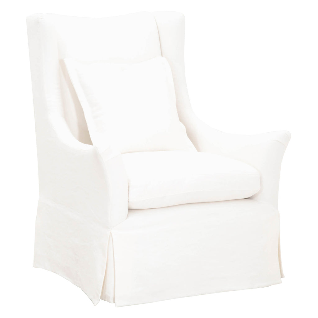 Otto Slipcover Swivel Club Chair